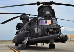 Photo about A black special forces Chinook helicopter assigned to the U. Image of assigned, aviation, helicopter - 69994392 Boeing Ch 47 Chinook, Chinook Helicopters, Helicopter Plane, Military Helicopter, Military Aircraft, Military Weapons, Military Life, Engin, Army Vehicles