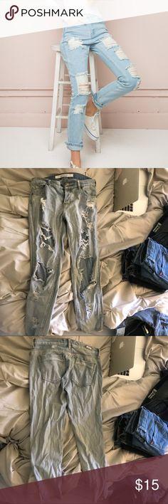 Brandy Melville jeans Super comfy destroyed style jeans from brandy Melville Brandy Melville Jeans