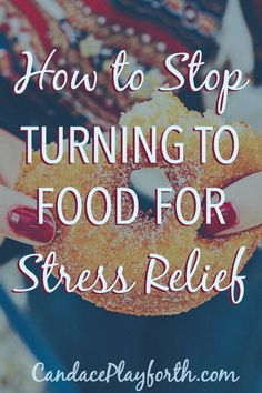 Why do we so easily find ourselves turning to food for stress relief? Learn how to stop overeating and find peace with mindful eating instead.