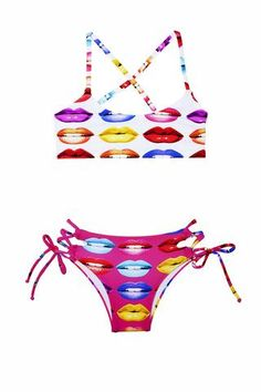 Fully adjustable bikini, on top and bottom. Perfect for every occasion. Girls Bathing Suits, Two Piece Swimsuits, These Girls, Two Pieces, Bikini Girls, Summer Time, Bikinis, Swimwear, One Piece