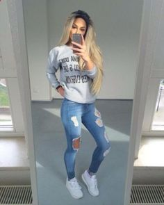 Awesome 46 Pretty Spring Fashion Outfits for Teen Girls http://outfitmad.com/2018/03/17/46-pretty-spring-fashion-outfits-for-teen-girls/