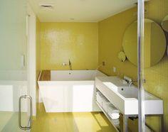 Durat Bathroom. Hotel Rivington, NYC