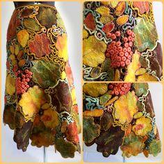 блог о валянии, одежде в технике шерстяная мозаика.