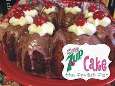 The Devilish Dish: Cherry 7up Bundt Cake