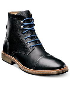 Florsheim Indie Lace-Up Cap Toe Boots
