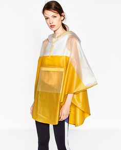 SHEER PONCHO-Jackets-OUTERWEAR-WOMAN-SALE | ZARA United States