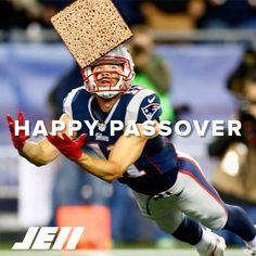 JE11! #HappyPassover #NewEnglandPatriots