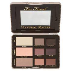 Natural Matte - Palette di ombretti di Too Faced su Sephora.it