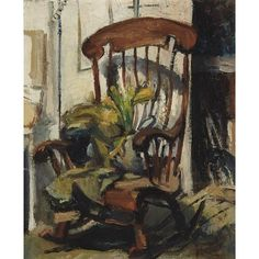 Franz Kline, Rocking Chair