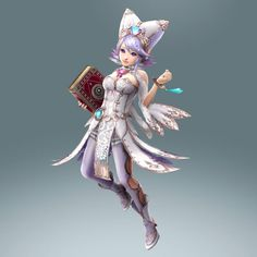 Lana White Witch costume - Oct. 16th Master Quest DLC | #HyruleWarriors #WiiU