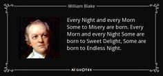 Resultado de imagen de william blake every night and every morn