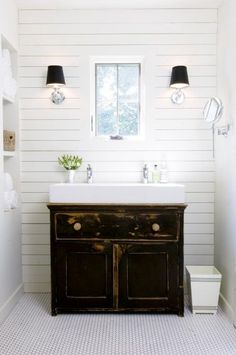 bathroom double sink vanity. small farmhouse bathroom vanity  Small White Trough Sink with Classic Vanity Cabinet for Simple No room a double sink Try trough style two