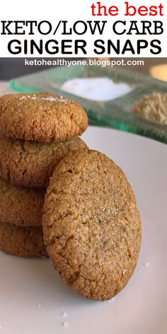 THE BEST KETO/LOW CARB GINGER SNAPS #THEBEST #KETO/LOW CARB #GINGER #SNAPS #THE BESTKETO/LOWCARBGINGERSNAPS