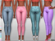 Sims 4 CC's - The Best: Skinny Jeans by Margeh-75