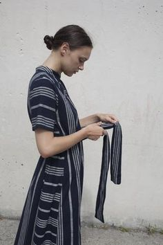 Ace & Jig Margaret Dress in Selvedge | Oroboro Store | Brooklyn, New York
