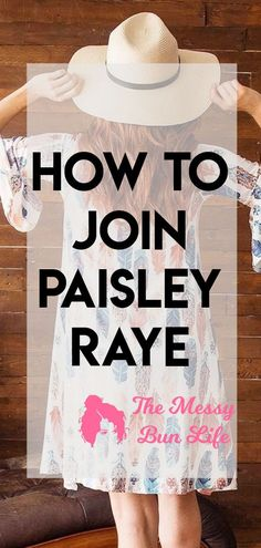 Here is your step by step guide to how to join Paisley Raye #paisleyraye