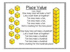 First Grade Wow: Falling For Place Value