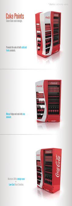 Coca-Cola Rack | Brazil on Behance