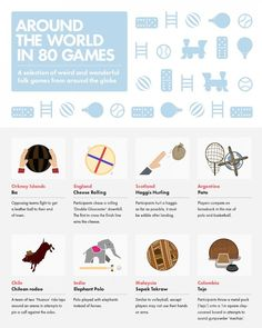 Infographic: The Weird And Wonderful Games Played Around The World