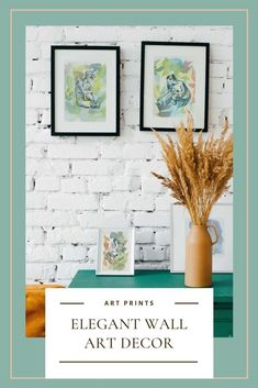 Elegant and artistic fine art prints that will elevate your home decor with a touch of color and personality. If you love to dress your walls with art pieces that reflect your love for nature and a feminist view of the world, you will love this collection of watercolor paintings!#feministart #walldecor #artisticprints #fineartprints #watercolorpainting #gicleeprints Watercolor Horse, Watercolor And Ink, Watercolor Paintings, Painting Prints, Wall Art Prints, Fine Art Prints, Sunflower Art, Gesture Drawing, Colorful Artwork