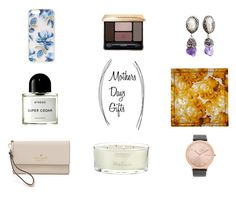 """#MothersDayGifts"" by mariannamic on Polyvore featuring Byredo, Kate Spade, Sonix, Guerlain, Ricardo Rodriguez, MaxMara, RumbaTime, The White Company, Beauty and Home"