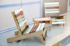 Muebles originales con palets en Información.