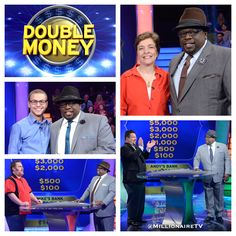 "This week is Double Money Week! And everyone's down for doubling up! Host Cedric ""The Entertainer"" is turning up the intensity because he's giving out double the cash all week long! Go to www.millionairetv.com for time and channel to watch #MillionaireTV!"
