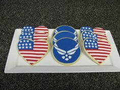 United States Air Force Cookies