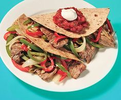 Steak and Pepper Tacos