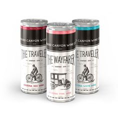 9 Canned Wine Spritzers for Summer Sipping: $30 per pack of four, thegrandcanyonwinery.com Make stemware a thing of the past with these cute cans from Arizona-based Grand Canyon Wine Co. Whether you bring a four-pack of The Traveler Red, Traveler White, or Wayfarer Pink, you'll crush it at any backyard barbecue or summer party.