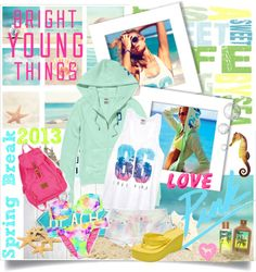"""Victoria's Secret PINK~Spring Break 2013"" by annmarie0697 on Polyvore"