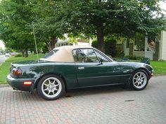 BRG (British Racing Green) - 1991 NA BRG SE Miata MX-5 - Mazda Miata MX-5 Picture Gallery