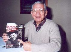 """Robert Clary of """"Hogan's Heroes"""", the only member of his immediate family who survived the Holocaust. He was liberated from Buchenwald. He still has his number on his arm. (Hogan's Heroes Fan Club Homepage)"""