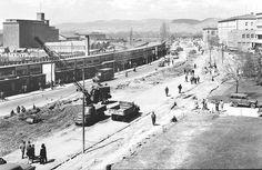 Atatürk Bulvarı genişletme çalışmaları 1958