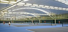 Indoor Tennis Courts | The National Tennis Centre (NTC) opened in 2007 and is a focal point ...
