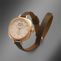 Shinola 'The Gomelsky' Bracelet Watch Grey Leather Strap, 34mm to die for...