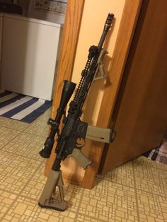 Rock River Arms Tactical Operator 2, Nikon P-223 4-12x40 BDC 600, LMJ-CN 45 degree irons, Magpul STR, Magpul MOE +, Magpul AFG, Midwest Industries GEN2 SS-Series Handguard, Overkill Customs Bully Brake - Made in the USA! Brownsville, WI - https://www.facebook.com/OverkillCustomsllc