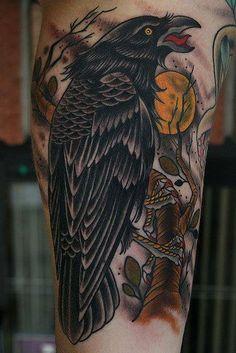 artist Stefan Johnsson | Stefan Johnsson Satanic Tattoo Flash