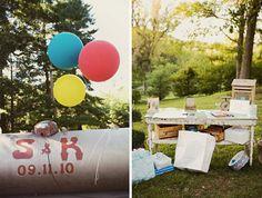 Real Wedding: Sarah + Kyle's Vintage County Fair Wedding Part 2