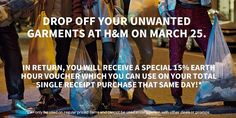 H&M is joining Earth Hour! From 830-930PM this March 25, all H&M stores will shut off 70% of its lights in support of our earth. #HMLovesEarthHour #SMEarthHour2017 #EverythingsHereAtSM #fashion #style #stylish #love #me #cute #photooftheday #nails #hair #beauty #beautiful #design #model #dress #shoes #heels #styles #outfit #purse #jewelry #shopping #glam #cheerfriends #bestfriends #cheer #friends #indianapolis #cheerleader #allstarcheer #cheercomp  #sale #shop #onlineshopping #dance #cheers…