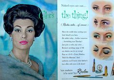 Color's the Thing! 1960 REVLON COSMETICS Vintage Magazine Advertisement by Christian Montone, via Flickr