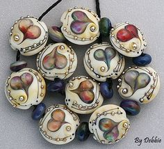 DSG Beads  Debbie Sanders Glass Handmade Organic Lampwork