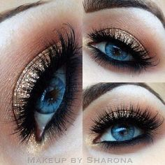 Def wanna try this. I LOVE gold eyeshadow, and the idea of blending with a matte brown is a good idea.