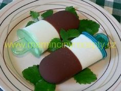 Tvarohové nanuky Ice Pops, Frappe, Christmas Candy, Food Art, Smoothie, Deserts, Food And Drink, Cooking Recipes, Ice Cream