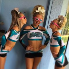 Break out your pompoms. Freeform announces its new Cheer Squad TV series premieres Monday, August at featuring The Great White Sharks. Easy Cheer Stunts, Cheerleading Photos, Cheerleading Makeup, Cheerleading Workouts, Cheerleading Cheers, School Cheerleading, Volleyball Drills, Volleyball Quotes, Volleyball Gifts