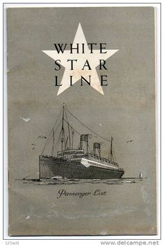 White Star Line graphic... but I admire the Black Star Liner more. blessings to Marcus!