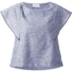 Sam & Lavi capped sleeve blouse