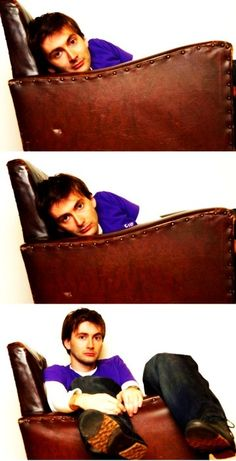 Young David Tennant being ridiculously adorable! :) <--- as always
