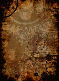 Steampunk Background By Acatrisdeviantart