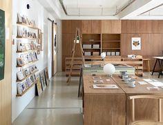 Cafe Design, Store Design, Interior Design, Bar Furniture, Furniture Design, Material Library, Retail, Concept, Studio